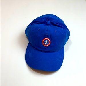 MARVEL Royal Blue Captain America Baseball Cap